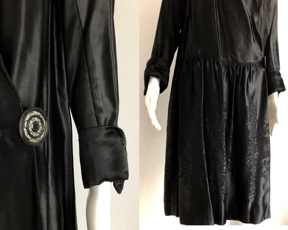 Stunning 1920's Coat Moleskin Collar - image 5