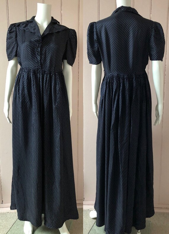Lovely 1940's Rayon Dress - image 6