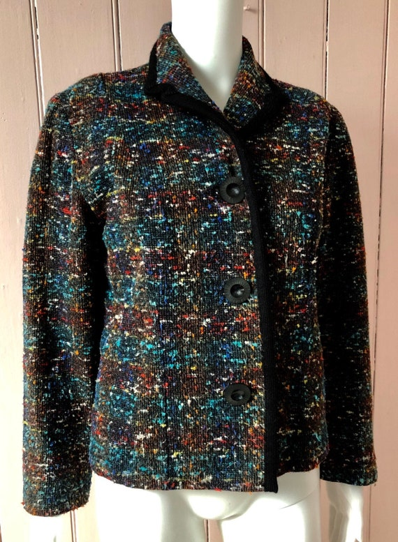 Colourful 1950's Jacket