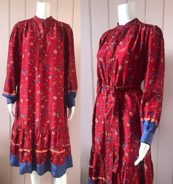 Lovely 1970's/80's Indian Dress