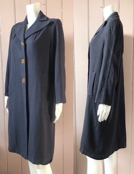 Reserved Fantastic 1940's Wool Coat - image 3