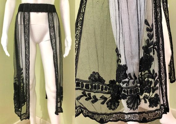 Amazing Edwardian Dress with overskirt - image 7