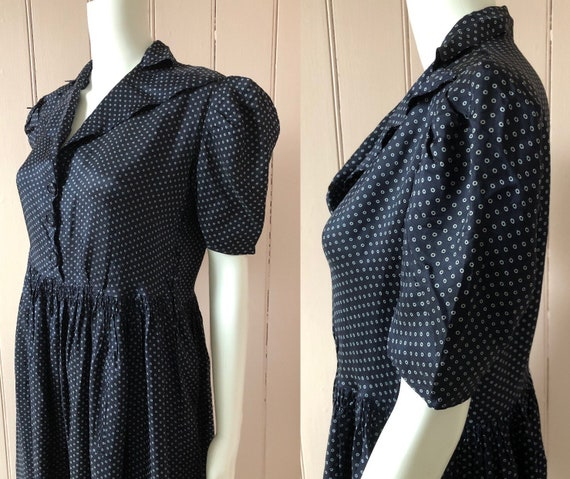 Lovely 1940's Rayon Dress - image 4