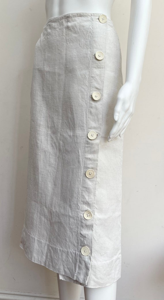 Great 1930's Irish Linen Skirt