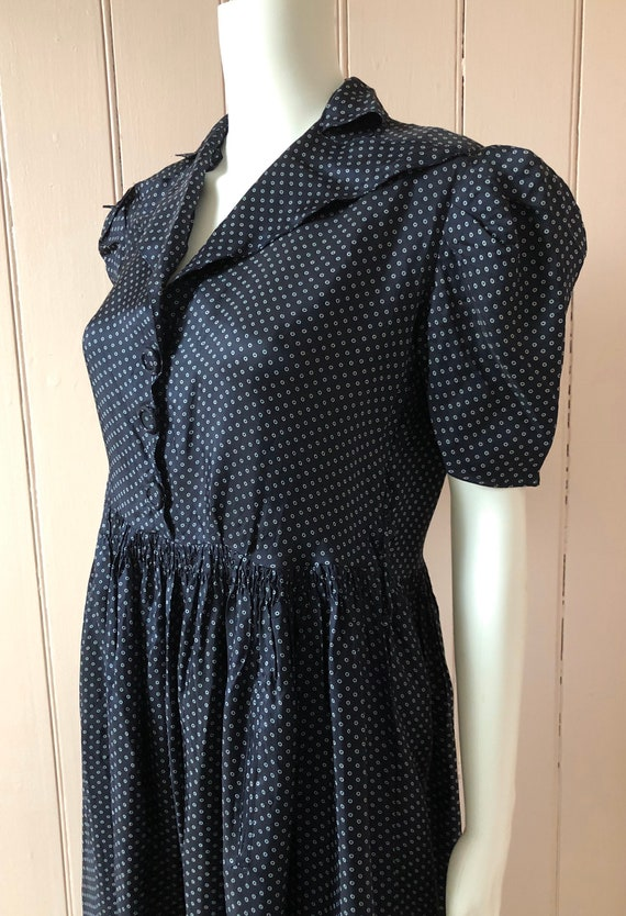 Lovely 1940's Rayon Dress