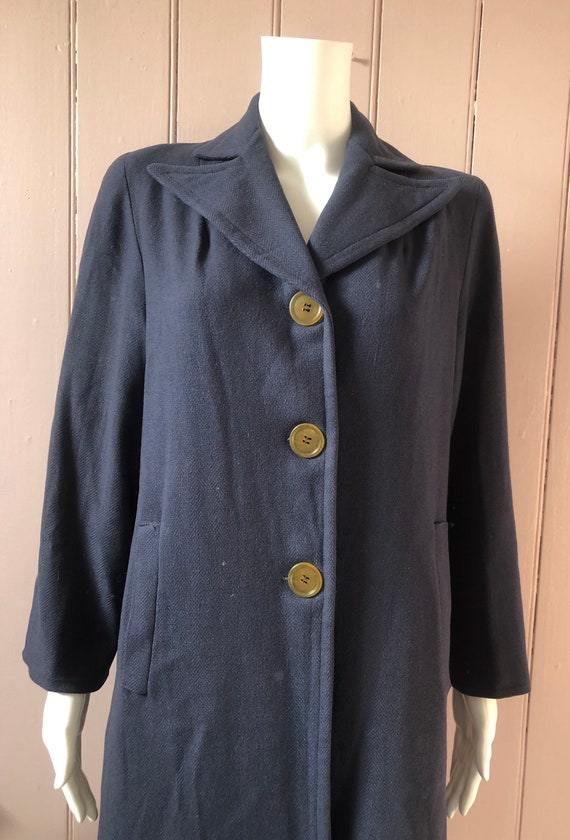 Reserved Fantastic 1940's Wool Coat - image 2