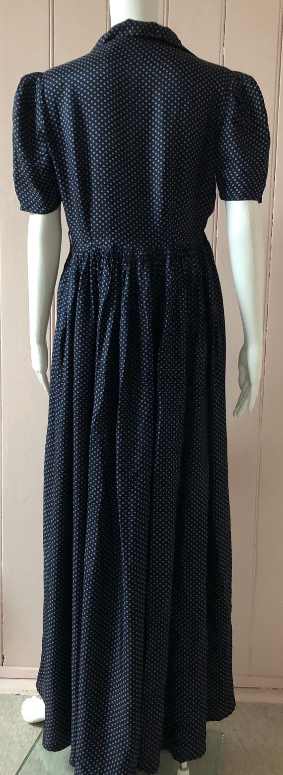 Lovely 1940's Rayon Dress - image 3