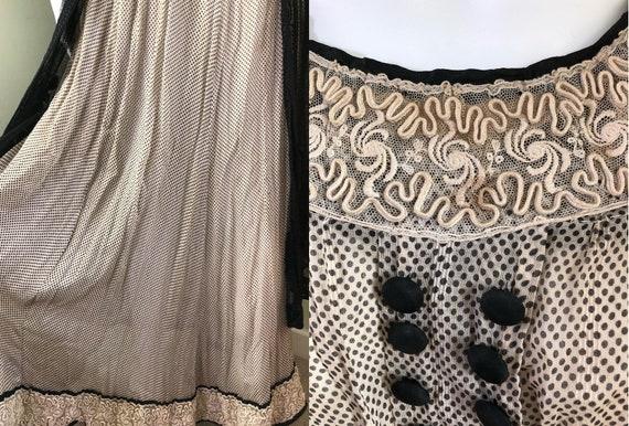 Amazing Edwardian Dress with overskirt - image 6