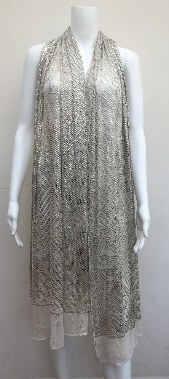 Beautiful Large 1920's Assuit Shawl