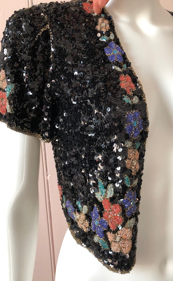 Stunning 1930's Beaded Jacket
