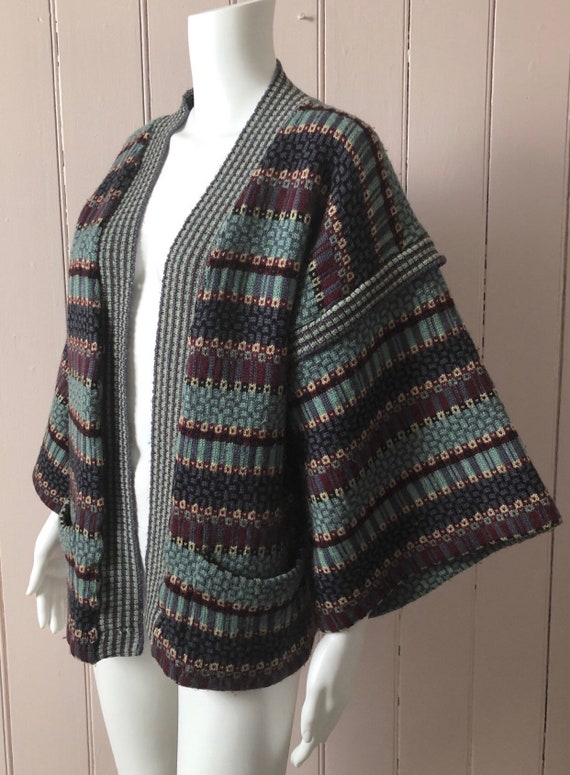 Wonderful 1970's Bill Gibb Cardigan