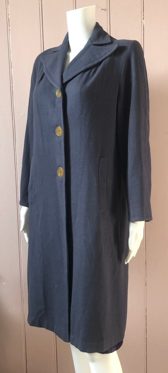 Reserved Fantastic 1940's Wool Coat - image 1