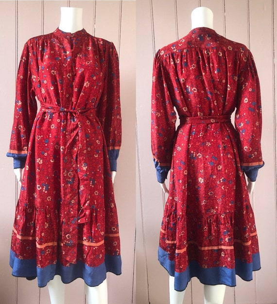 Lovely 1970's/80's Indian Dress - image 4