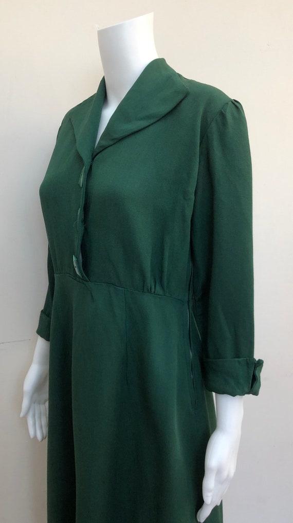 Lovely 1940's Green Dress