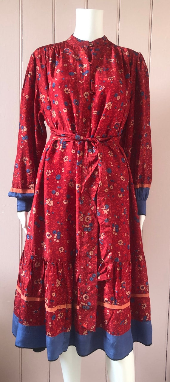 Lovely 1970's/80's Indian Dress - image 2
