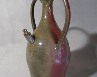 Dave O'Hara, Large Vintage Two Handled Jug, Studio Ceramics, signed, 1978