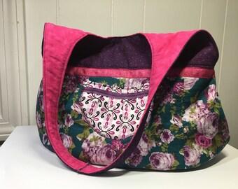 Spring shoulder bag