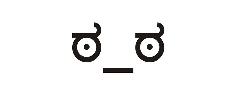 Eyes of Disapproval Vinyl Decal image 0
