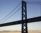 When She Wakes  |  Sunrise at Bay Bridge, San Francisco, California | 8x10 Architecture Photography Print