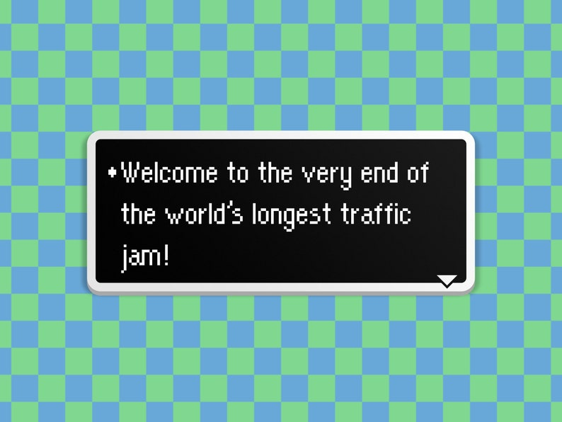 Traffic Jam  Earthbound Dialog Box image 0