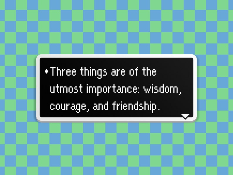 Three Important Things  Earthbound Dialog Box image 0