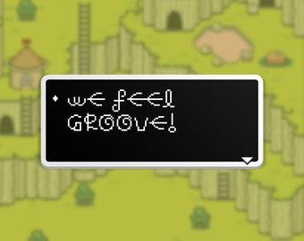 We Feel Groove - Mr. Saturn Dialog Box