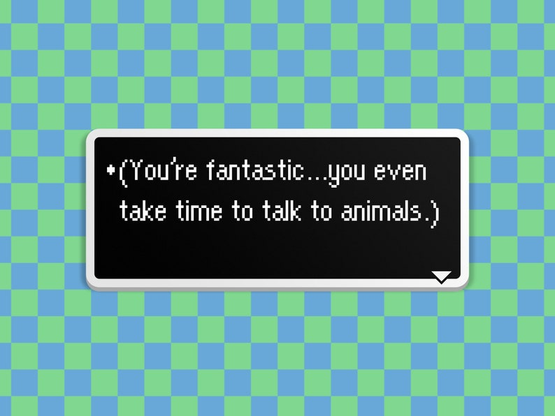 You're Fantastic  Earthbound Dialog Box image 0