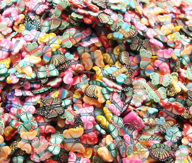 25//50//100//500Pcs Mini Sliced Fruit Mixed Piece Flatback Beads Crafts DIY Decor
