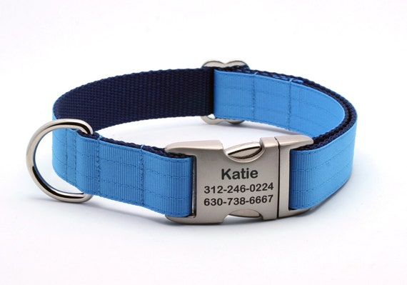 Personalized Military Grade Dog Collar