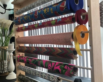 Wrapping Paper Rack FREE SHIPPING )Wall hanging)