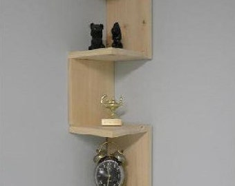 Wall mounted corner shelf for bathroom or any other room.FREE SHIPPING