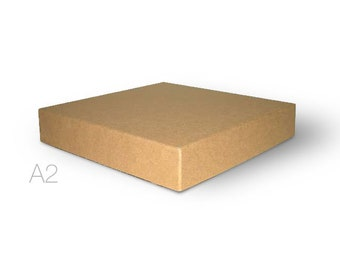 Greeting card boxes etsy 2 piece a2 or 55 bar kraft stationerygreeting card boxes 5 78 x 4 12 x 34 m4hsunfo
