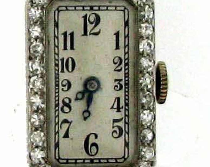 Vintage Art Deco Platinum Fordsham Diamond Wrist Watch