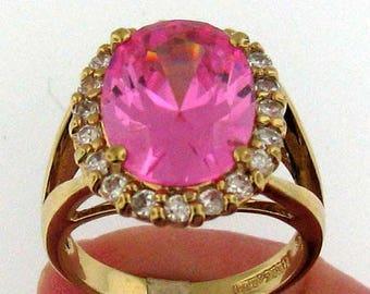 Jacqueline B. Kennedy Imitation Kunzite Ring