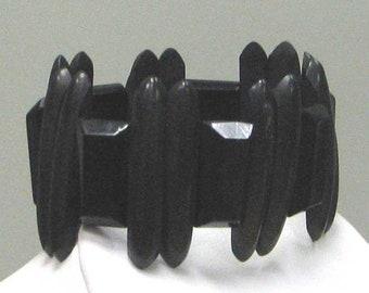 Vintage Victorian Vulcanite Bracelet