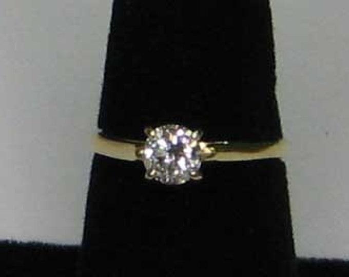 CLASSIC SOLITARE DIAMOND 3/4 Carat