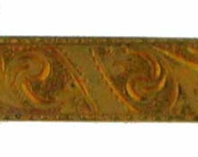Vintage Victorian Gold Filled Paisley Bar Pin Brooch