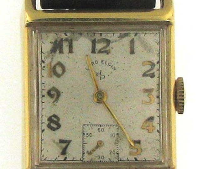 Vintage Lord Elgin Gents Watch with Gold Case