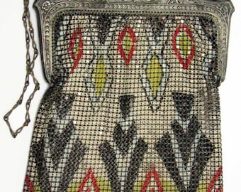 Vintage Art Deco Whiting & Davis Mesh Purse