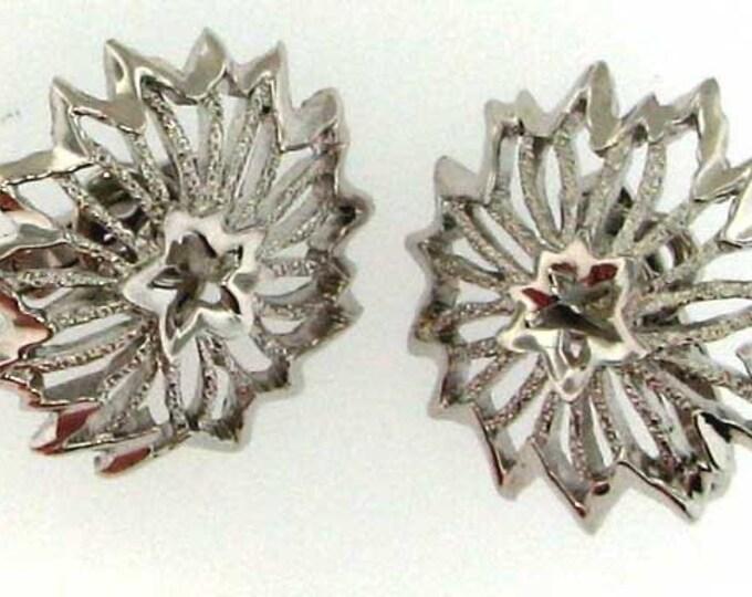 CROWN TRIFARI Silver Earrings
