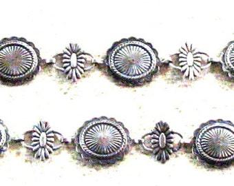 Wonderful Sterling Silver Dressy Link Belt