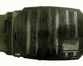 Vintage Art Deco Belt Buckle c1920
