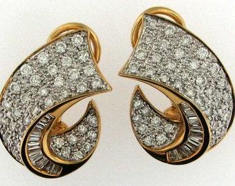 2 Carat 18K Natural Diamond Ring