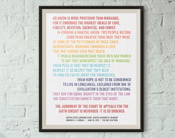 Print: The Day Love Won — DOMA overturned, LGBTQ rights