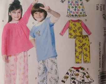 b3050f6657 McCall Childrens Sewing Pattern M6194 Toddler and Children s Tops