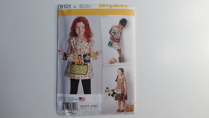 4056e59872 Małe dziewczynki tunika sukienka wzór prostota kropkowany