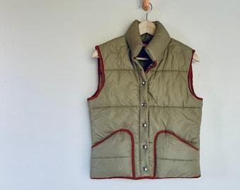 Vintage Puffy Vest - Unisex