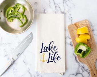 Lake Kitchen Towel - Lake Life Dish Towel
