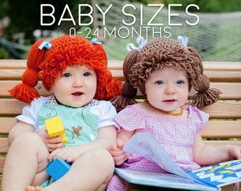 Cabbage Patch Hat, Toddler Winter Hat, Newborn Gift,