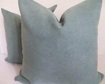 Pillow Cover - 18x18  -Teal Pillow Cover- Dark Teal Pillow - Accent Pillow - Home Pillow - Turquiose Pillow- Aqua Pillow - Pillow